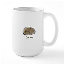 Raw Half Shell Oyster Mug