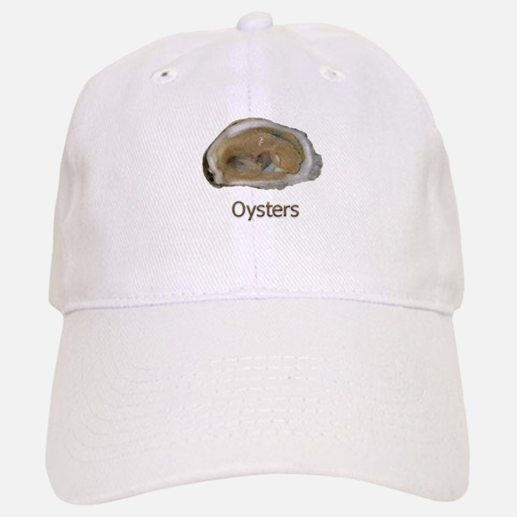 Raw Half Shell Oyster Baseball Baseball Cap