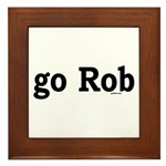 go Rob Framed Tile