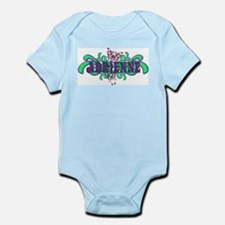 Adrienne's Butterfly Name Infant Creeper