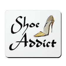 Shoe Addict Mousepad