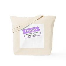 World's Bestist Memaw Tote Bag