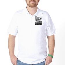 Reach for the sun b/w T-Shirt