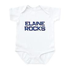 elaine rocks Infant Bodysuit