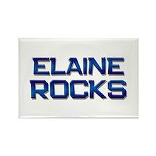 elaine rocks Rectangle Magnet