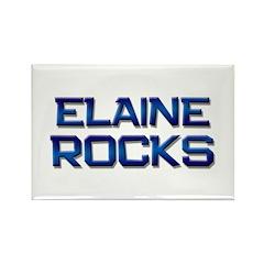 elaine rocks Rectangle Magnet (10 pack)