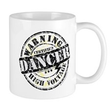 Warning Dancer High Voltage Small Small Mug