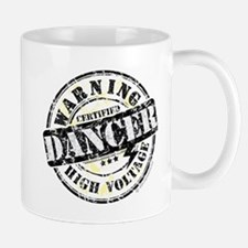 Warning Dancer High Voltage Small Small Mug