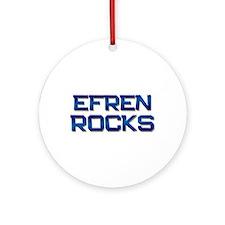 efren rocks Ornament (Round)