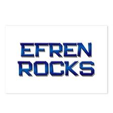 efren rocks Postcards (Package of 8)