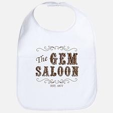 The Gem Saloon Bib