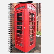 Cute Red phone box Journal
