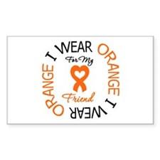 IWearOrange Friend Rectangle Decal