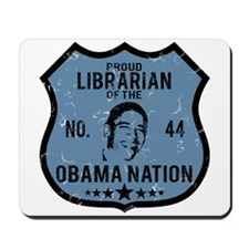 Librarian Obama Nation Mousepad
