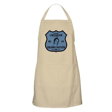 Librarian Obama Nation BBQ Apron