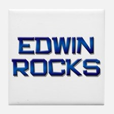 edwin rocks Tile Coaster