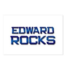 edward rocks Postcards (Package of 8)