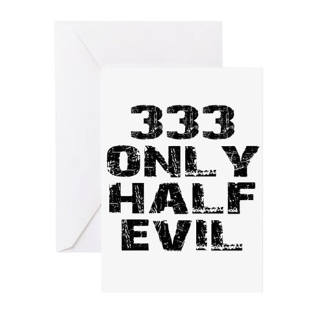 333 Greeting Cards (Pk of 20)