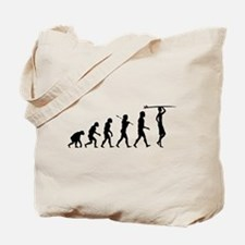 Surf Evolution Tote Bag