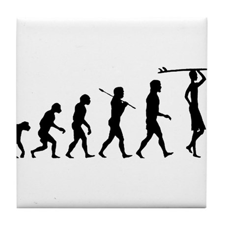 Surf Evolution Tile Coaster