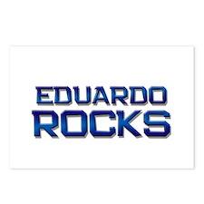 eduardo rocks Postcards (Package of 8)