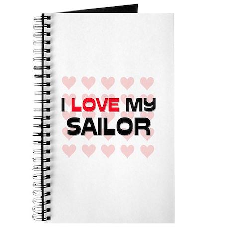 I Love My Sailor Journal