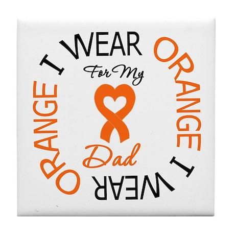 IWearOrange Dad Tile Coaster