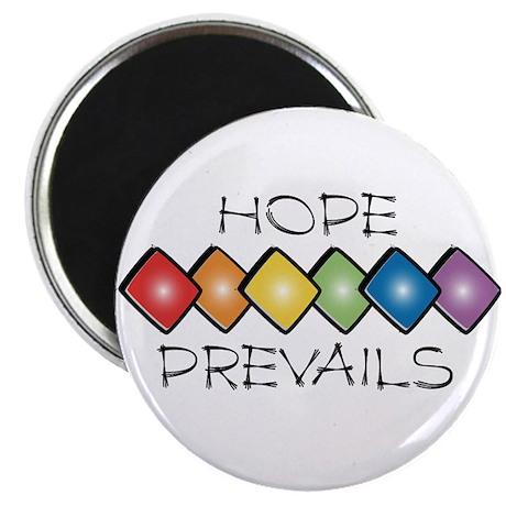 """Hope Prevails 2.25"""" Magnet (100 pack)"""