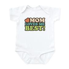Mom Loves Me Best Infant Bodysuit