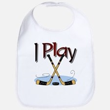 I Play Hockey Bib