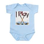 I Play Hockey Infant Creeper