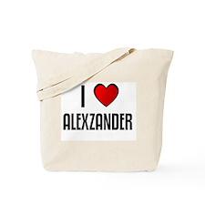 I LOVE ALEXZANDER Tote Bag