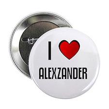 I LOVE ALEXZANDER Button