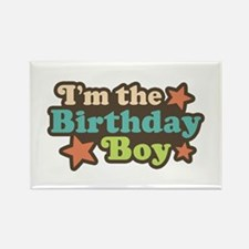 I'm The Birthday Boy Rectangle Magnet