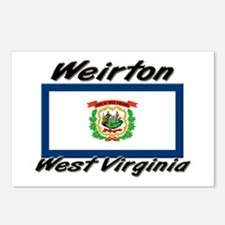 Weirton West Virginia Postcards (Package of 8)