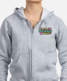 I'm The Birthday Girl Zip Hoodie