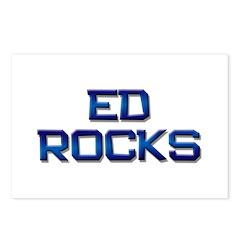 ed rocks Postcards (Package of 8)