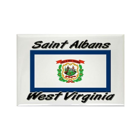 Saint Albans West Virginia Rectangle Magnet (10 pa