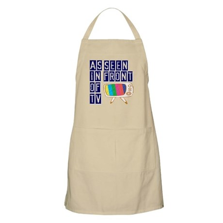 As Seen In Front of TV BBQ Apron