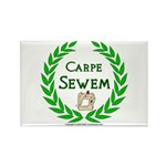Carpe Sewem Rectangle Magnet