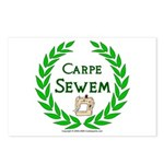 Carpe Sewem Postcards (Package of 8)