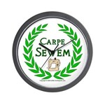 Carpe Sewem Wall Clock