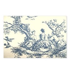 FRENCH TOILE Postcards (Package of 8)