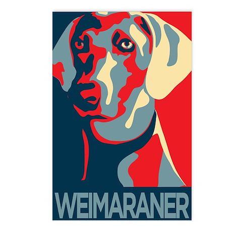 Vote Weimaraner! Postcards (Package of 8)