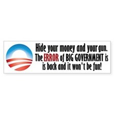 Big Government Bumper Bumper Stickers