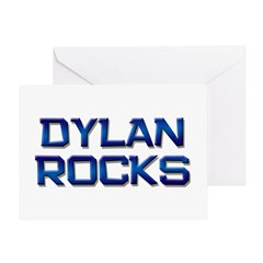dylan rocks Greeting Card