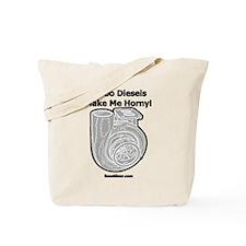 Turbo Diesels Make Me Horny! - Racing Tote Bag