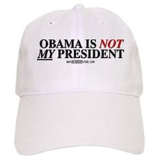 Obama is NOT MY president! Baseball Cap