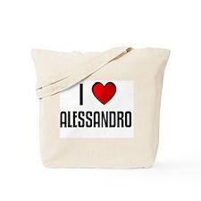 I LOVE ALESSANDRO Tote Bag