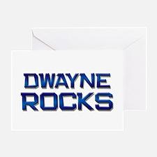 dwayne rocks Greeting Card